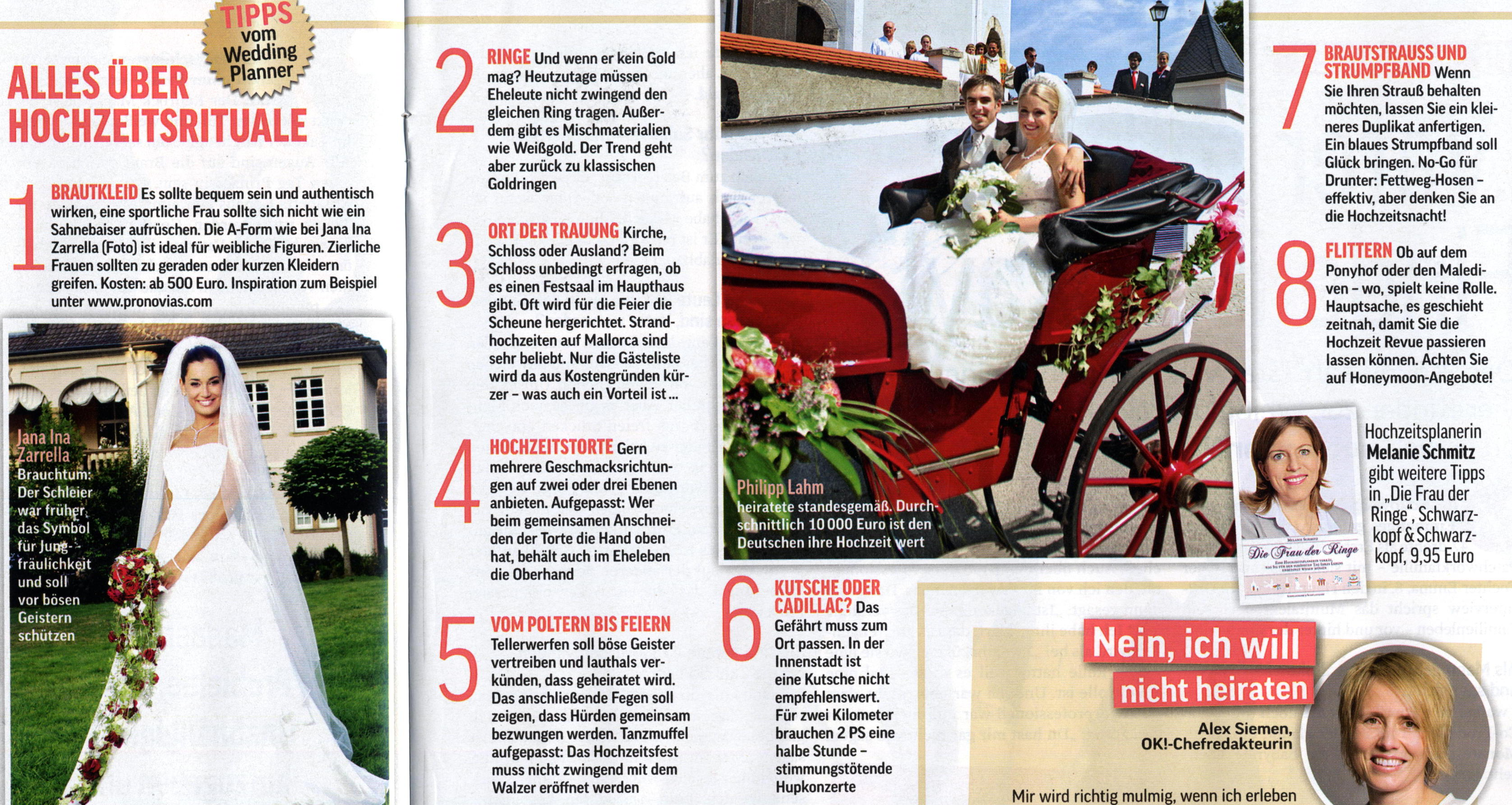 marry me - in der Presse, Pressetexte | Marry Me
